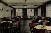 Teisnach Bayern Postkarte 1965 gelaufen Innenansicht Konditorei Café Schrötter