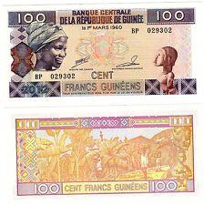 REPUBLIQUE GUINEE GUINEA Billet 100 Francs GUINEES 2012  NEW NOUVEAU NEUF UNC