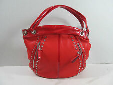 KATHY VAN ZEELAND RED POP ROCK STAR SHOPPER TOTE  HANDBAG