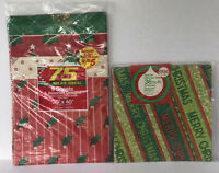 Vintage Christmas Gift Wrap Christmas Wrapping Paper 19 Sheets Assorted