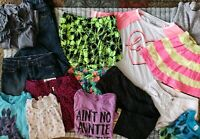 Huge Lot Of 15 Name Brand Girls Clothes Size 10/12
