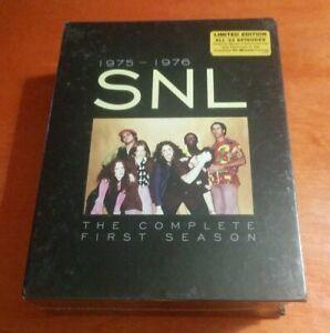 Saturday Night Live The Complete First Season DVD Dan Aykroyd  John Belushi