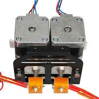 Metal MK8 extruder holder chassis for dual extruder MK8 Prusa I3 3d printer kit