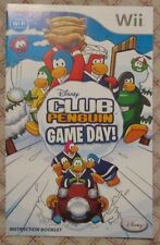 Nintendo Wii - Disney Club Penguin Game Day ! (Manual only)