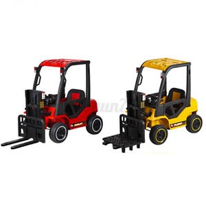 Children's Electric Forklift Kids Ride-on Forklift Remote Control Truck W/Music