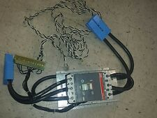 USED ABB S3B SACE S3 Circuit Breaker 200 Amps 240VAC  Shunt Trip w/ Wires