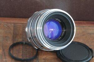 🎥 Excellent Rare early Helios 44 2/58 M39 M42 Zenit. 13 blades. soviet lens