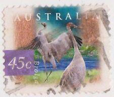(DC234) 1997 AU 45c birds issue (R)