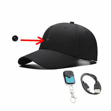HD 1080P Spy Hidden Camera Hat Covert Video Recorder Wireless Remote Control Cap
