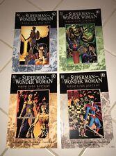 SupermanWonder Woman – Who Gods Destroyed Complete Graphic Novel Set