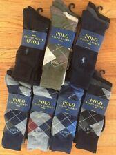 Polo Ralph Lauren Mens 3 Dress Socks Three Pairs New