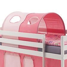 Tunnel rose - rose clair pour lit enfant surélevé mi-hauteur