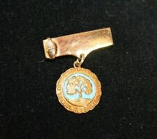 VINTAGE NATIONAL CONGRESS OF PARENTS AND TEACHERS 1897 10K GF PIN AWARD
