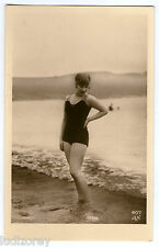 CPA 407-2 BAIGNEUSE GARCONNE ART DECO MISS PIN-UP NUE FLAPPERS BATHING BEAUTY