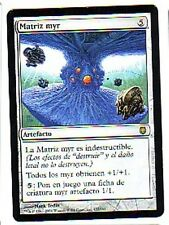 MTG 4X SPANISH DARKSTEEL MYR MATRIX NM MAGIC THE GATHERING CARD ARTIFACT RARE
