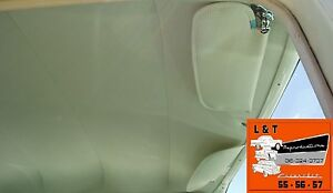 1956 1957 Chevy 4 Door Sedan White Perforated Headliner USA Made Belair Sedan
