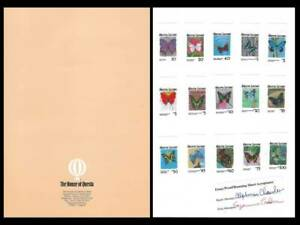 1987 Sierra Leone MNH Imperf Proof Animals Insects Butterflies Plants Flowers