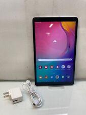 """SAMSUNG Galaxy Tab A (2019) SM-T517P 10.1"""" 32GB Wi-Fi + 4G (Sprint) - Silver"""