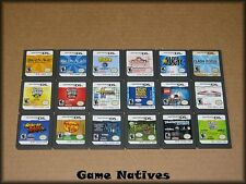 18 Nintendo DS Games Including Mario Kart DS - All Game Only - FREE SHIPPING!