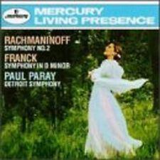 PARAY/DSO - SINFONIE 2/SINFONIE D-MOLL  CD NEU RACHMANINOFF,SERGEJ/FRANCK,C.