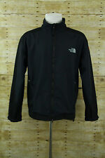 The North Face Summit Series Navy Blue Black Softshell Windstopper Jacker Mens L