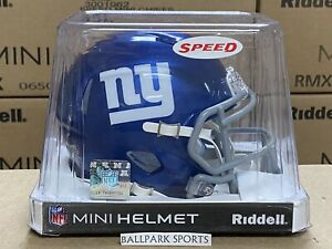 New York Giants - Riddell NFL Speed Mini Football Helmet