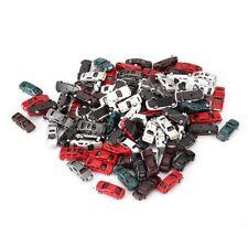 100x Plastic Building Layout 1:200 Scale Model Cars/ Fixation door wheels