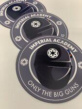 Death Star Imperial Gunner Academy 4 inch circle Car/fridge Magnet, Star Wars