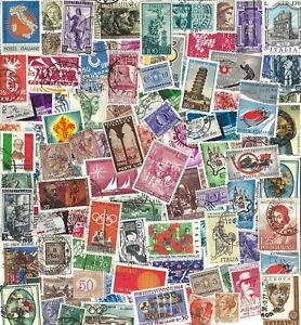 Italy - 100 Different Stamps - Many Older.......................  D-209