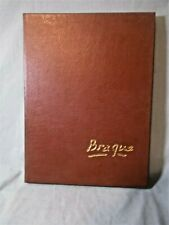 Easton Press Collector's Edition: Braque by Raymond Cogniat Leather Bound -1984