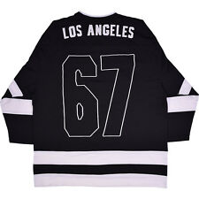 THE DOORS EMBROIDERED ON BACK LOS ANGELES HOCKEY JERSEY LICENSED ADULT LARGE