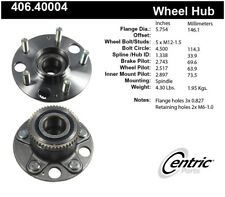 Wheel Bearing and Hub Assembly-Premium Hubs Rear Centric 406.40004