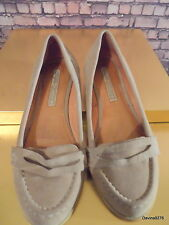 suede loafers Buffalo London comfy classic ladies shoes 4 - 4.5 caramel brown