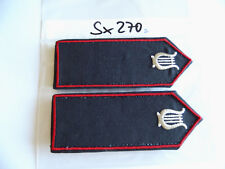 Schulterstücke Feuerwehr Saarland Leiter Musikzug 1Paar (sx270)