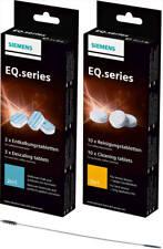 SIEMENS TZ80001 Pflegeset 10 Reinigungstabletten + 3 Entkalker EQ Series NEU