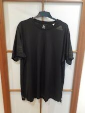 Adidas t-shirt bk6120 freelift Climacool Training té Originals negro 2xl XXL