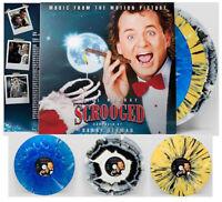 Danny Elfmans Scrooged Holiday Christmas Snowflakes Blue Vinyl LP (All Variants)