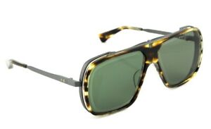$1065 NEW Genuine DITA ENDURANCE 79 Square Aviator Titanium Sunglasses DTS 104