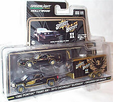 Smokey and the Bandit 11 Pontiac Chevy & trailer 1-64 Scale new blister ltd ed