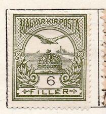 Hungría 1900 antiguo problema fina con bisagras de menta 6f. 098748