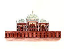 Humayun Tomb Painting Handmade Indian Mughal Emperor Dynasty Monument Decor Art