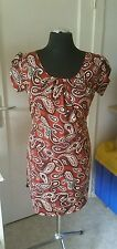 Damenkleider im Boho -/Hippie-Stil mit Rundhals-Ausschnitt aus Baumwollmischung