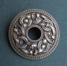 Norse Viking Dragon Brosch Talisman Brooch