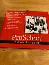 HEAVY-DUTY 16 OZ BOLT-ON COOP CUP STAINLESS STEEL PROSELECT WIRE CAGE FEED (New)