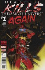 Deadpool Kills the Marvel Universe Again #1A first print NM/MT plus digital code