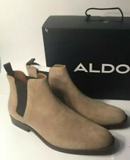 Aldo Chelsea Men's Boots Size 12 With Taupe Color(Worn Once).