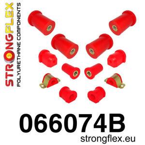 StrongfIex Polyurethane FULL SUSPENSION Bushing Kit for Fiat Cincuecento (Road)