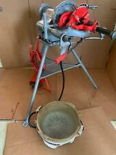 Ridgid 300-T2 Pipe Threader Threading Machine. w/ Oiler Bucket !Free Shipping!