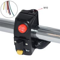 Motorrad 22mm Lenkerhalterung Schalter Alu für Blinker Hupe Fern-Abblendlicht 1x
