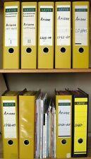 s1594) ARIANE V1 - V180 über 2200 Recibos 1976 - 2007 ESA Erno Kourou Literatura